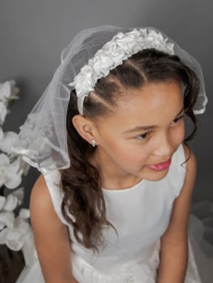 Alice Band Communion Veil