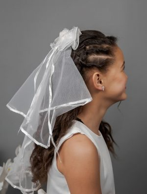 Communion Clip Comb Veil